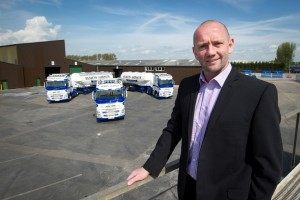 Simon Gibson Will retain a 25% equity in the business he has created and continue in his role as Managing Director. The Business name and identity will remain as Simon Gibson Transport Ltd.