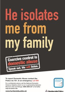 Humberside Police are committed to helping the thousands of victims in their communities looking to escape an abusive relationship, but have not got the confidence or courage to escape.